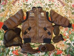 Chicco куртка с отстегивающимися рукавами на пуху 104-110