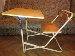 Парта-стул складная-раскладная