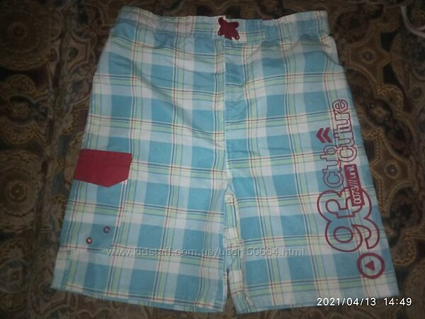 X-MAIL яркие пляжные шорты-плавки на подростка 164-170
