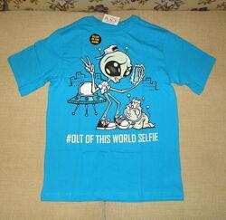 Отличные коттоновые футболки и майка - Н&М, George, Gymboree, Zara