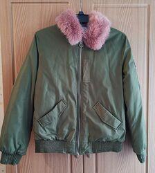 Куртка бомбер Zara.