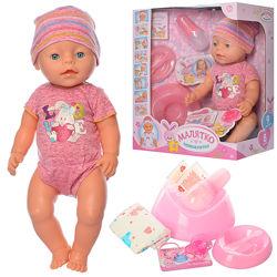 Кукла пупс Беби борн в новых нарядах