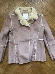 куртка-дубленка Mango на девочку