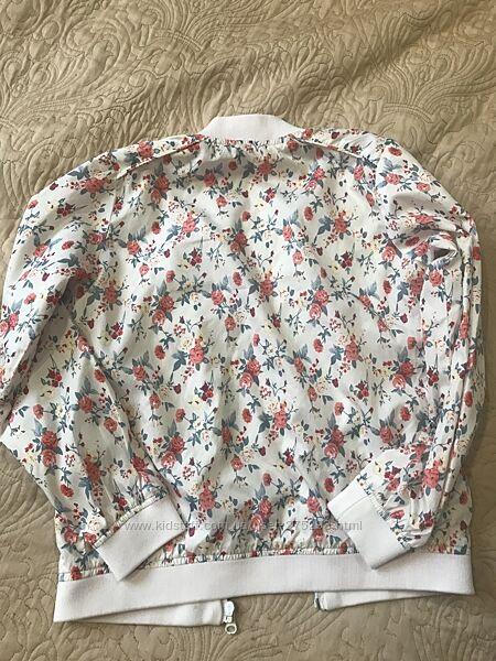 Куртка ветровка доя девочки, рост 135-140см, Mango