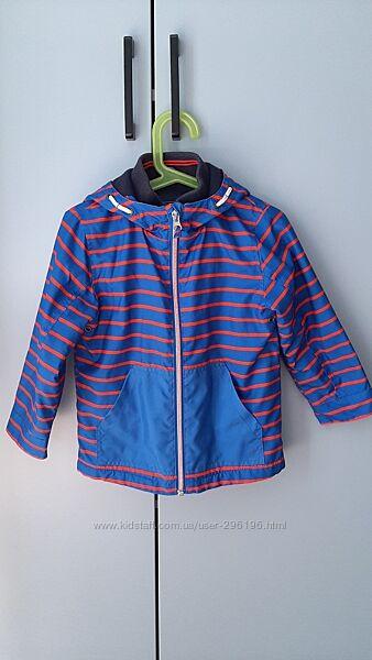 Куртка Next с флисом 3-4 года 104см