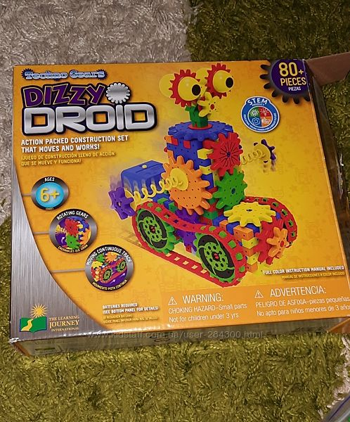 Конструктор Dizzy Droid на батарейках США оригінал