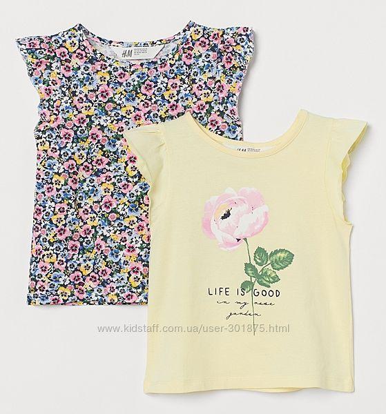Набор футболочек H&M р. 6-8 лет.