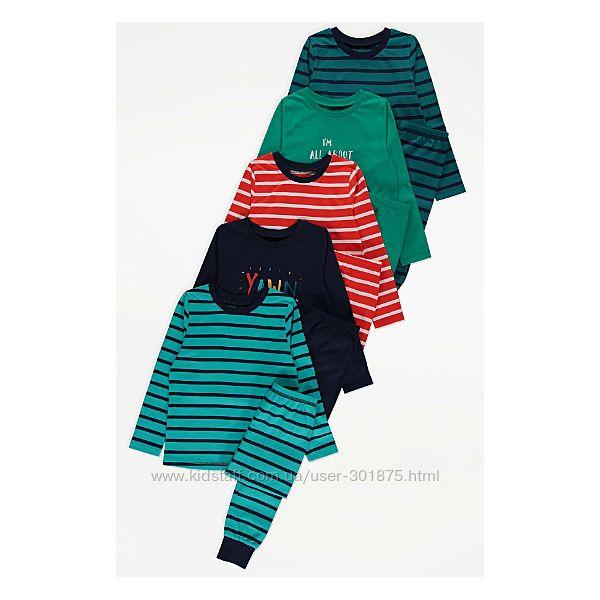 Пижамки George р. 4-5 лет.