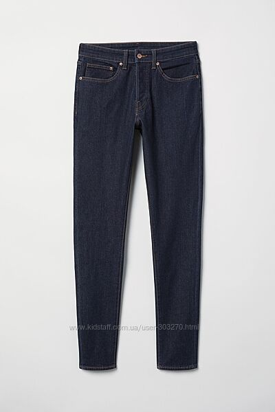 Мужские джинсы Skinny Jeans НМ размер 30/34