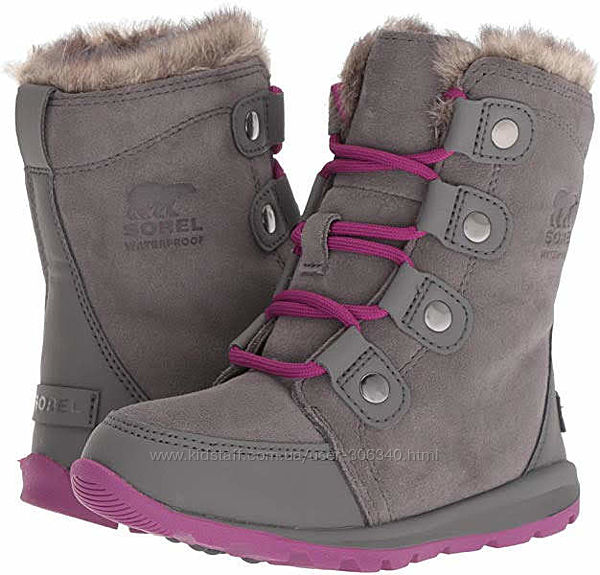 Ботинки Sorel зима 28р. США непромокаемые