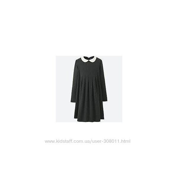 Платье школьное для девочки  ЮНИКЛО UNIQLO рост 125-135