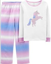 Пижамы для девочки разные Carters США р. 5, 6, 7