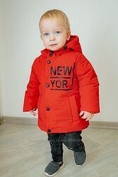 Куртки демисезон для мальчиков 80-104