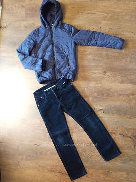 Куртка Herethere, штаны на флисе 146-152р.