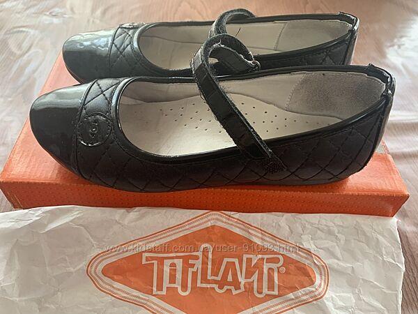 Чёрные туфли в школу Tiflani 34 размер