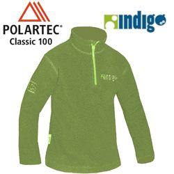 Легкий теплый влагоотводящий пуловер PuffyCOMMANDOR PolartecClassic100 р116
