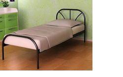 Кровать односпальная  металлическая RELAX  МЕТАКАМ