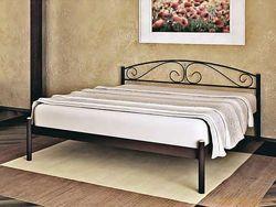 Кровать двуспальная  металлическая VERONA-1  МЕТАКАМ