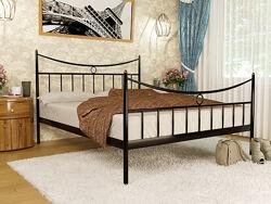 Кровать двуспальная металлическая PARIS  МЕТАКАМ