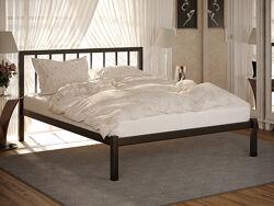 Кровать двуспальная металлическая TURIN МЕТАКАМ