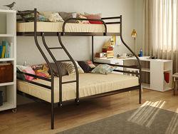 Кровать металлическая двухъярусная SMART МЕТАКАМ