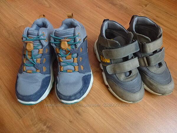 Качественные брендовые деми ботинки Tiflani и Teva на мальчика 28 размер