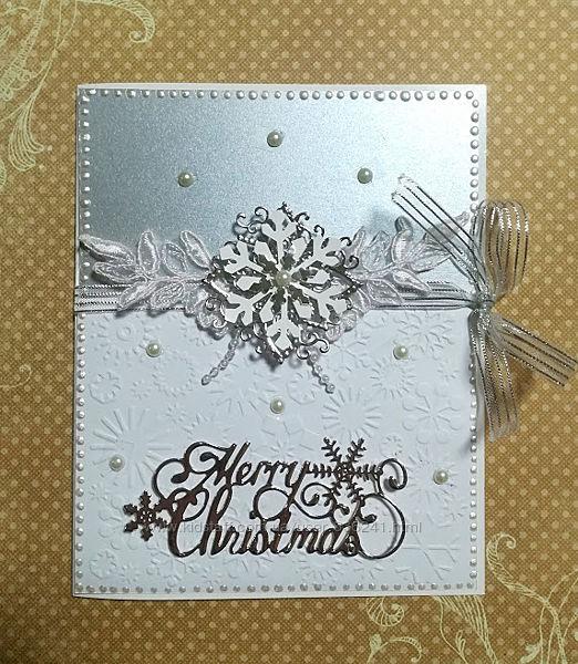 Набор для создания новогодней открытки 6