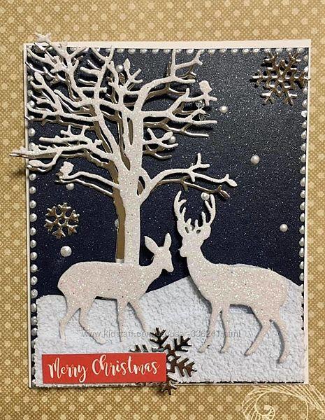 Набор для создания новогодней открытки 12