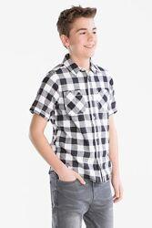 Рубашка в клетку c&a.134/140
