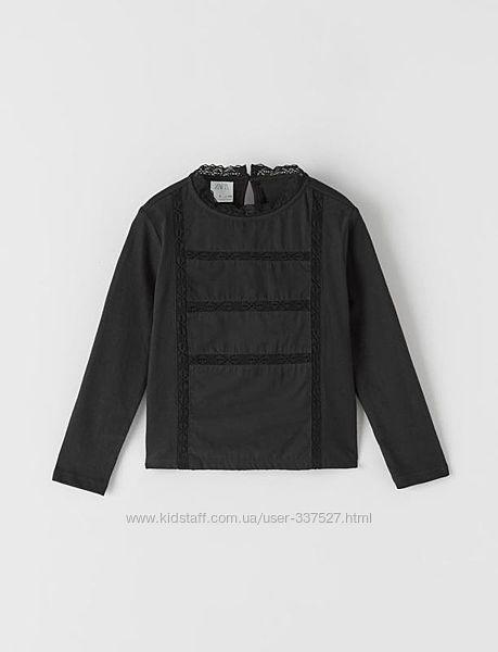 Нарядная блуза реглан zara