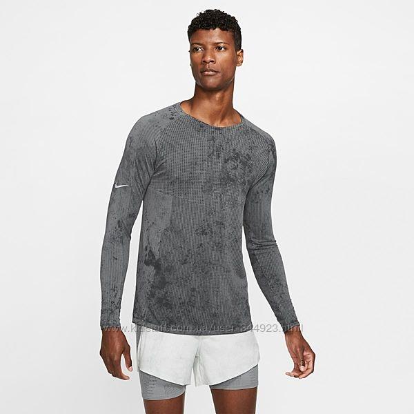 Реглан лонгслив Nike tech. Ткань влаготводящая.