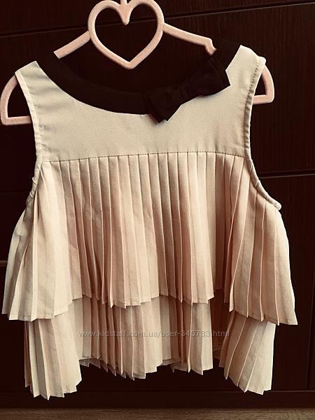 Нарядная блузка  для девочки 6-8 лет