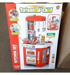 Детская кухня Kitchen Set 922-48А с водой, светом и звуком. 922-48