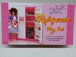 Мебель холодильник gloria 94017 кукольная для кукол типа барби