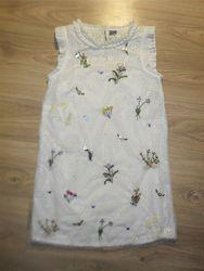 Нарядное платье Некст на 11лет рост 146