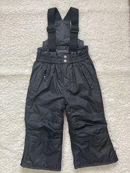 Лыжные штаны, полукомбинезон PowerZone рост 92 см