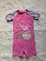 Купальный костюм, солнцезащитный костюм на 3-4 года