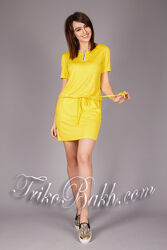 Летнее яркое платье ТМ TrikoBakh