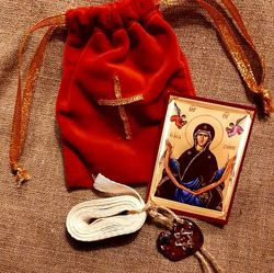 Пояс Пресвятой Богородицы с Афона зачатие беременность дети