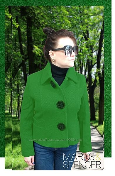 Роскошное пальто жакет Marks&Spenser Англия