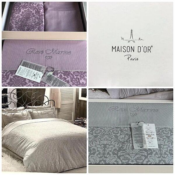 Maison Dor Rose Marine Сатин Делюкс со стразами все размеры .