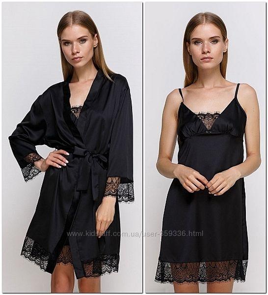 Комплекты домашней одежды - женские халаты, сорочки, пижамы