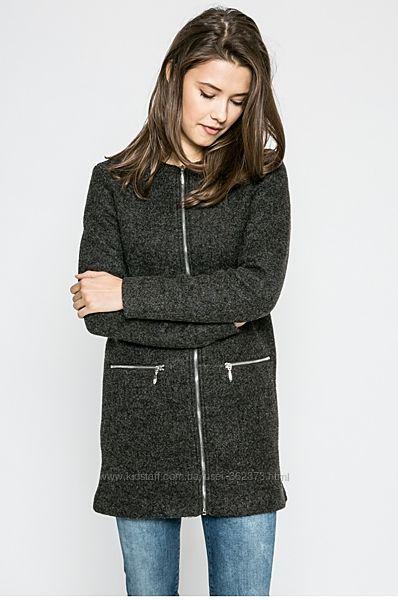 Прямое пальто удлинённый жакет женский ХС Only