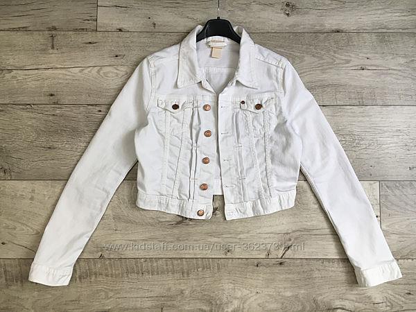 Джинсовый пиджак куртка котонка женская М H&M Conscious