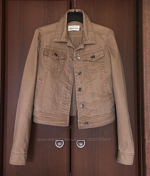 Джинсовый пиджак куртка котонка женская С Stradivarius