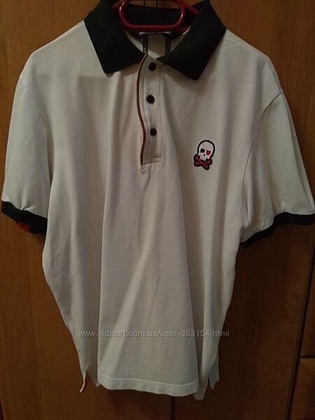 Классная футболка - поло original marines размер 14 на рост 152-158-164