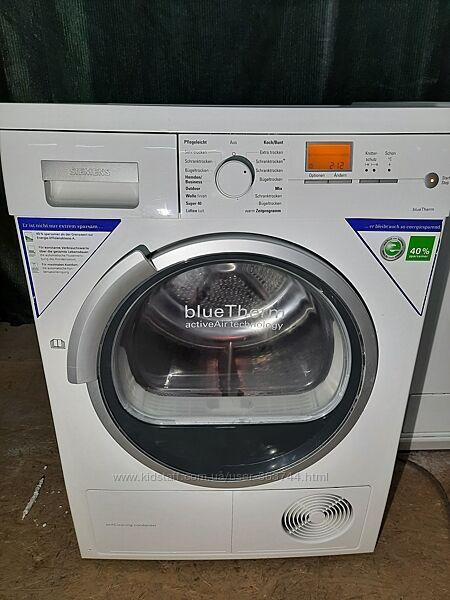 Сушильная машина Siemens для белья бу из Германии на тепловом насосе