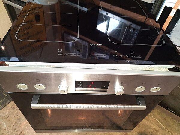 Индукционная варочная и духовой шкаф бу из Германии BOSCH