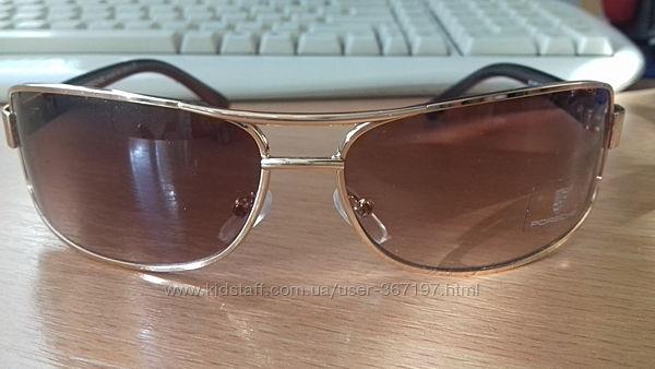 Porsche 1109 солнцезащитные очки коричневые мужские Италия