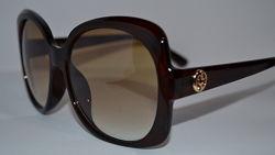 Gucci 3189 солнцезащитные очки в коричневой оправе Италия